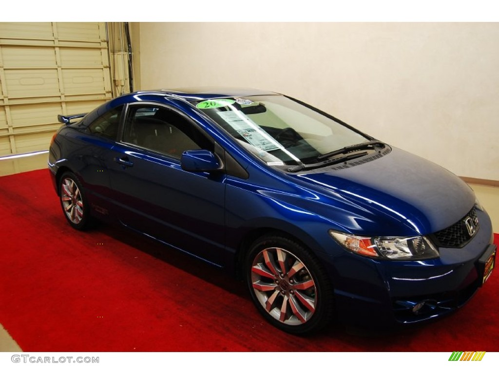 2010 civic si coupe dyno blue pearl black photo 1