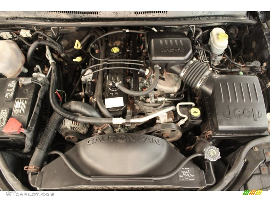 2004 jeep grand cherokee freedom edition 4x4 4 0 liter ohv 12v inline 6 cylinder engine photo. Black Bedroom Furniture Sets. Home Design Ideas