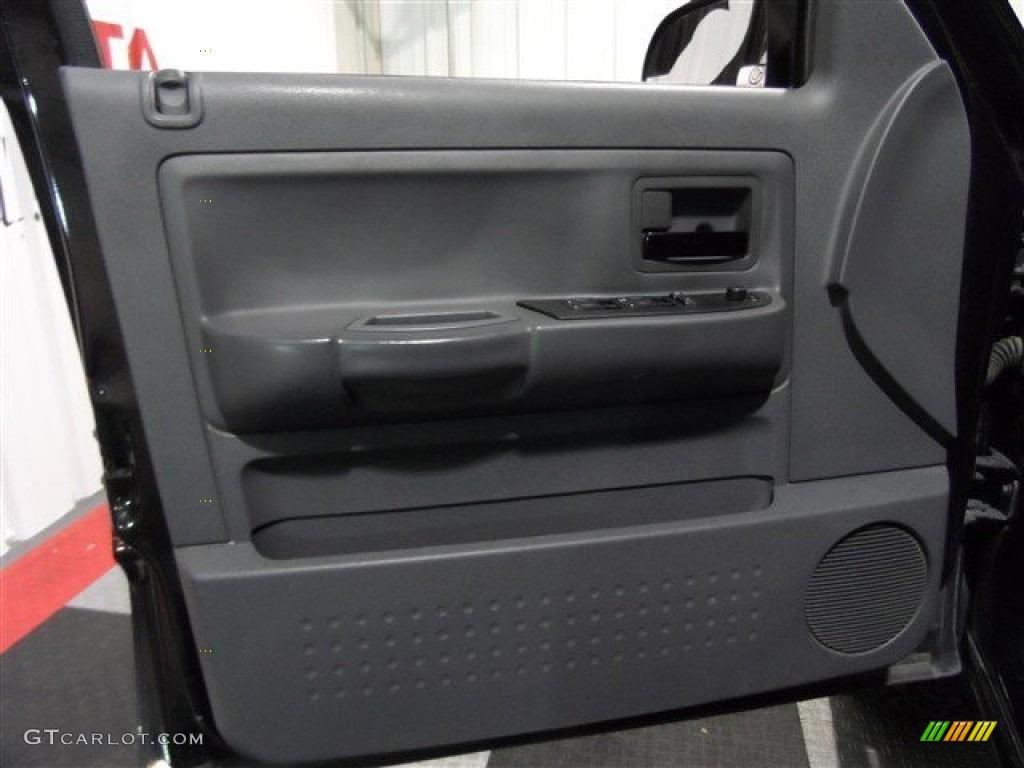 2006 Dodge Dakota Night Runner Quad Cab Medium Slate Gray Door Panel Photo 72666988
