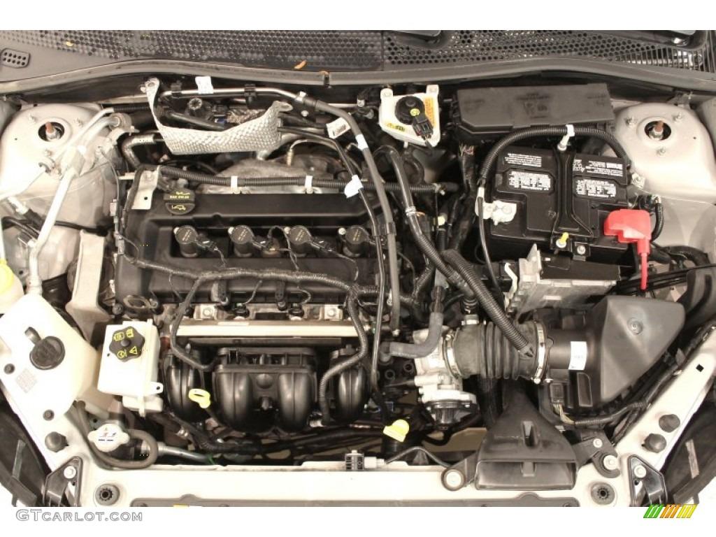 2010 ford focus sel sedan 2 0 liter dohc 16 valve vvt duratec 4 cylinder engine photo 72667010. Black Bedroom Furniture Sets. Home Design Ideas