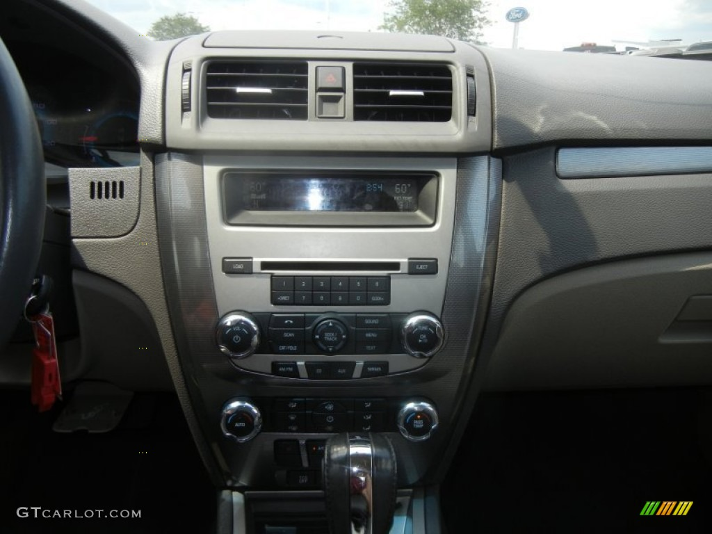 2011 Fusion SEL V6 - Tuxedo Black Metallic / Camel photo #17