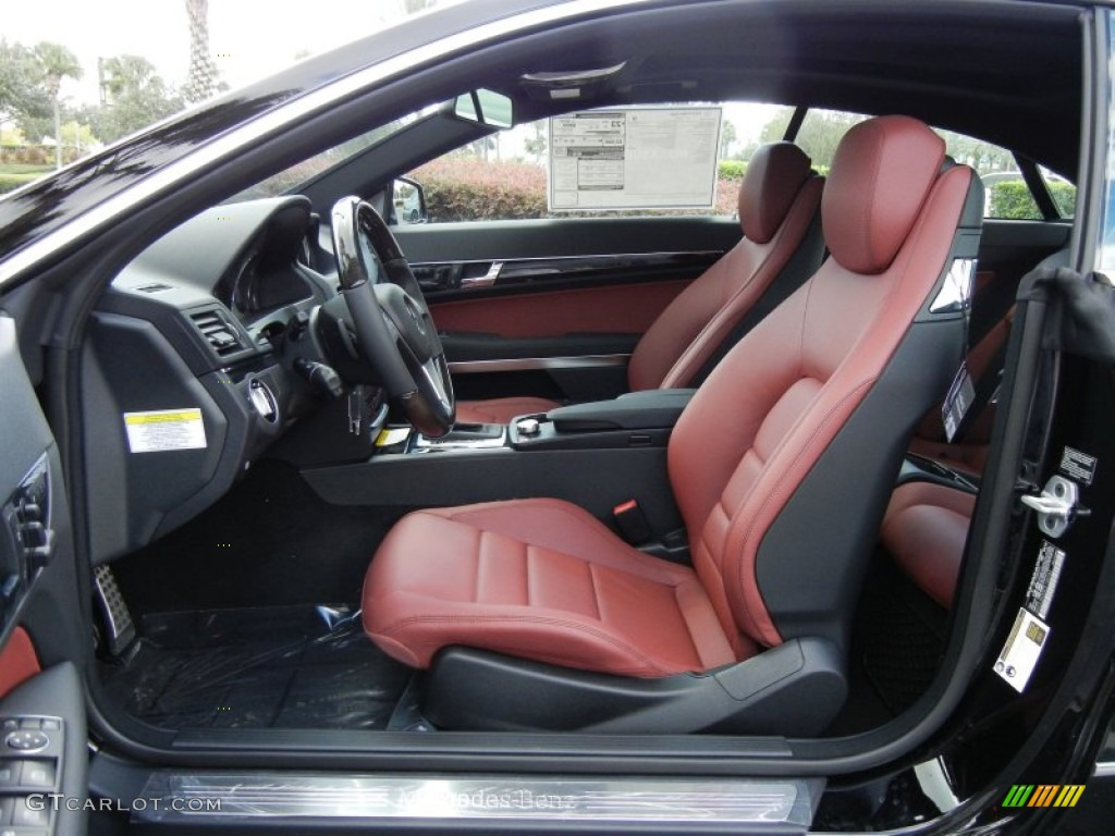 Red Black Interior 2013 Mercedes Benz E 350 Coupe Photo 72684658