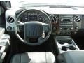 2012 Tuxedo Black Metallic Ford F250 Super Duty Lariat Crew Cab 4x4  photo #7