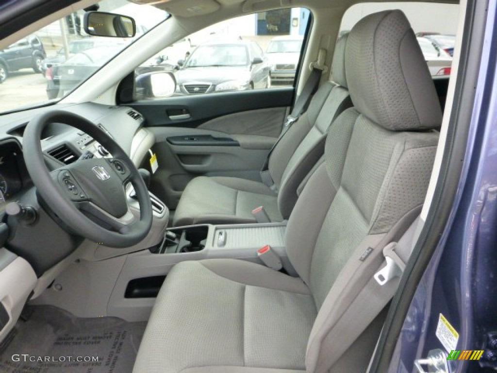 Gray interior 2013 honda cr v ex awd photo 72701572 for Honda cr v 2013 interior