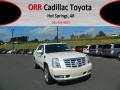 White Diamond Tricoat 2013 Cadillac Escalade EXT Premium AWD