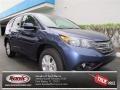 2013 Twilight Blue Metallic Honda CR-V EX  photo #1