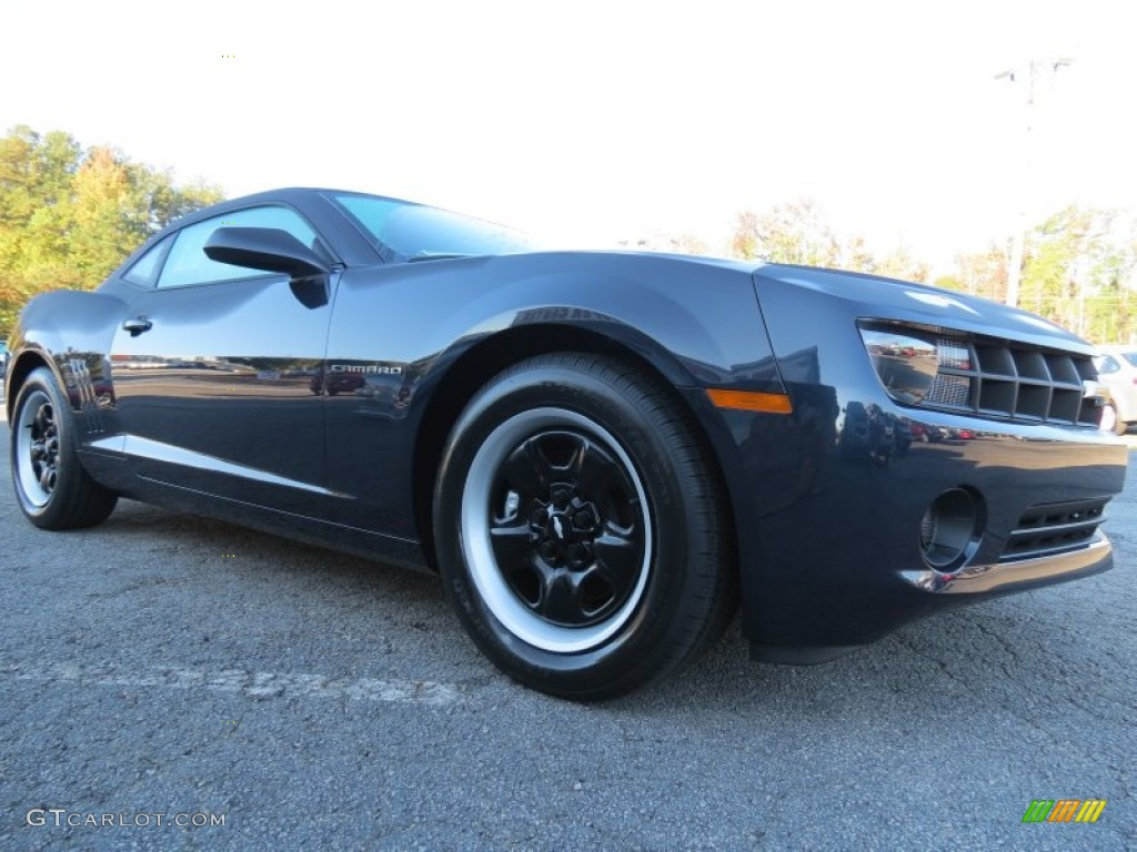 2013 blue ray metallic chevrolet camaro ls coupe 72706044. Black Bedroom Furniture Sets. Home Design Ideas
