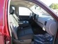 2013 Deep Ruby Metallic Chevrolet Silverado 1500 LS Crew Cab  photo #11