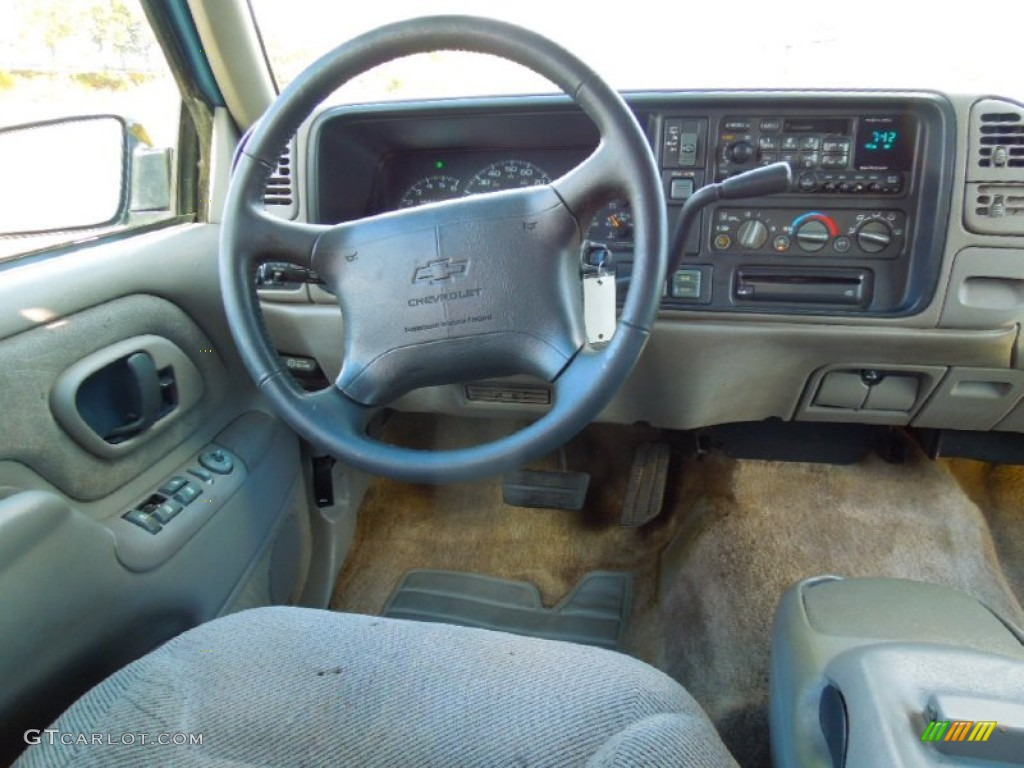1997 Chevrolet Tahoe Ls 4x4 Pewter Dashboard Photo 72714992