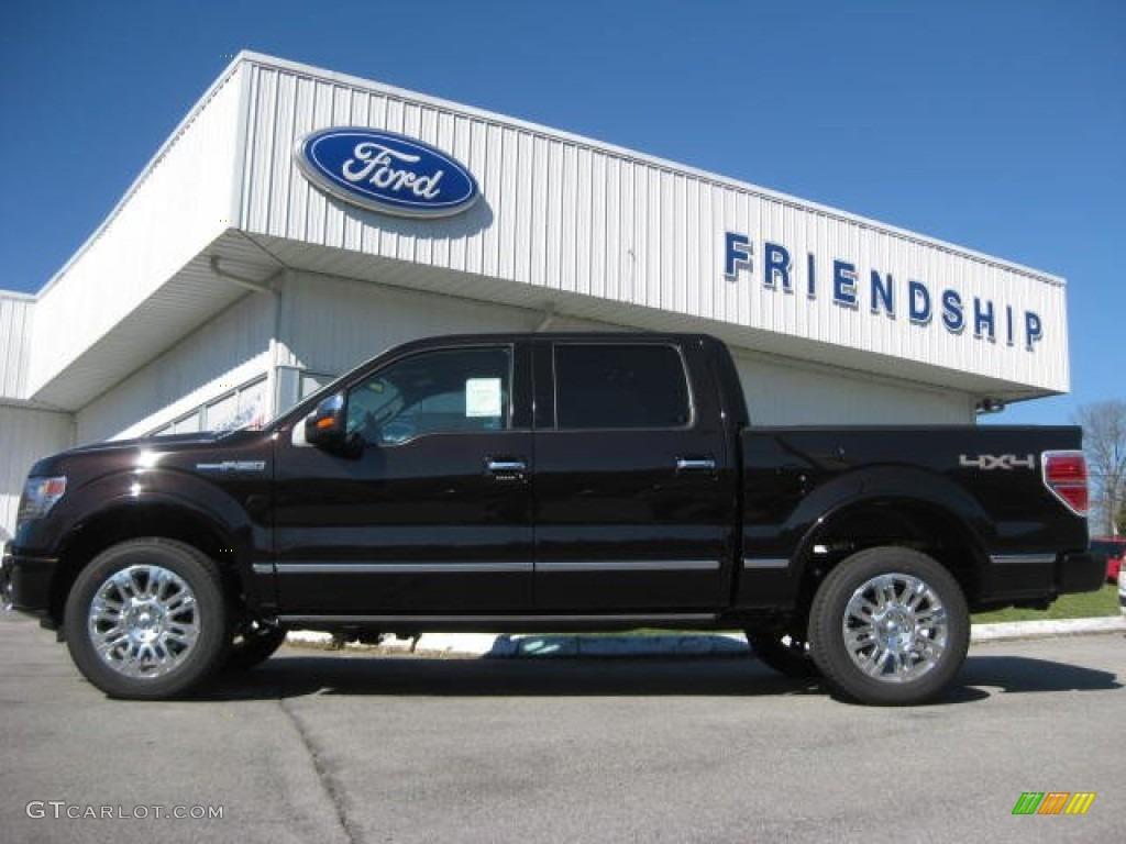 2013 kodiak brown metallic ford f150 platinum supercrew