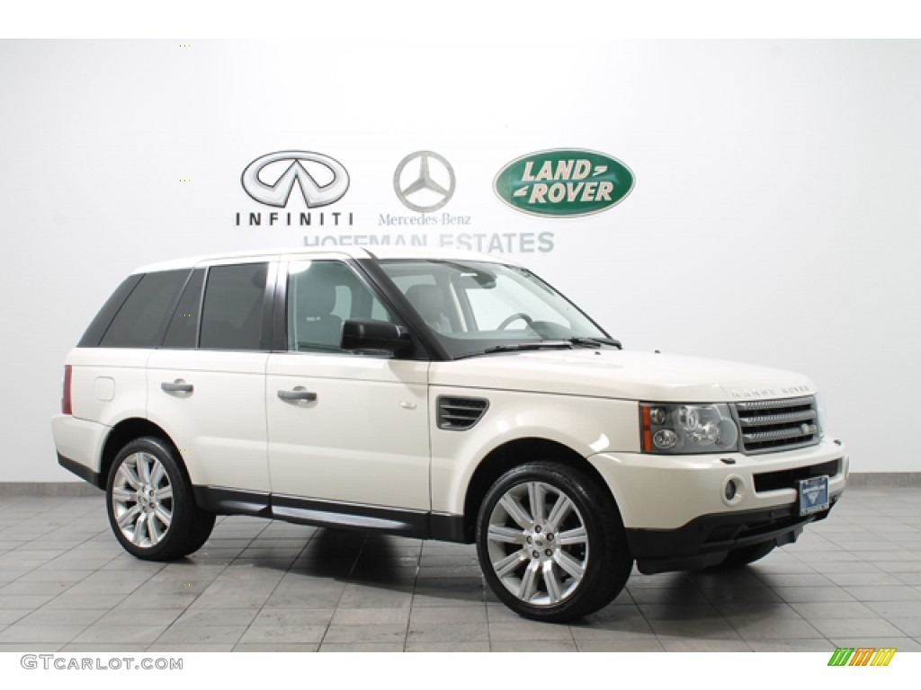 2009 alaska white land rover range rover sport hse. Black Bedroom Furniture Sets. Home Design Ideas