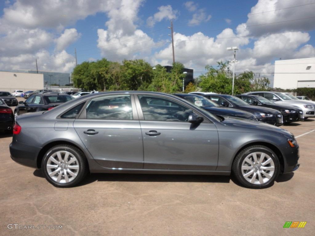 Monsoon Gray Metallic 2013 Audi A4 2 0t Quattro Sedan