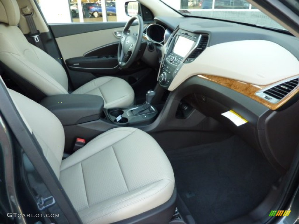 Beige Interior 2013 Hyundai Santa Fe Sport 2 0t Awd Photo 72731347