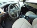 Beige Prime Interior Photo for 2013 Hyundai Santa Fe #72731490
