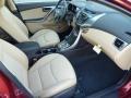 Beige Interior Photo for 2013 Hyundai Elantra #72734000
