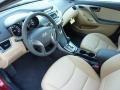 Beige Prime Interior Photo for 2013 Hyundai Elantra #72734132
