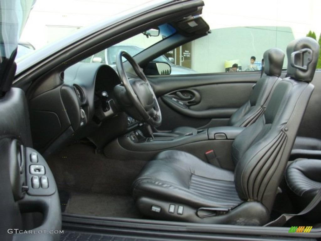 2002 Pontiac Firebird Trans Am Convertible Interior Color Photos