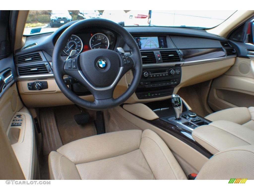 Sand Beige Interior 2010 BMW X6 XDrive35i Photo 72738958