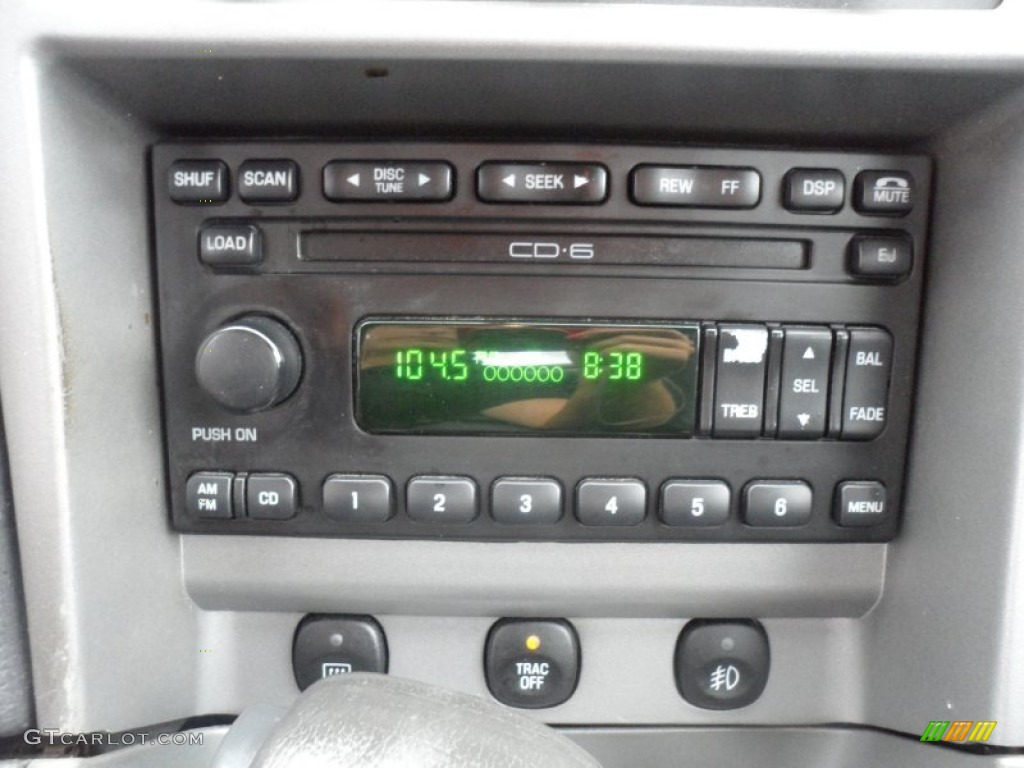 2003 ford mustang mach 1 coupe audio system photo. Black Bedroom Furniture Sets. Home Design Ideas