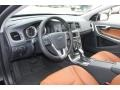 Beechwood/Off Black Interior Photo for 2013 Volvo S60 #72744288