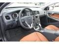 Beechwood/Off Black Interior Photo for 2013 Volvo S60 #72744288