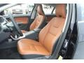 Beechwood/Off Black Front Seat Photo for 2013 Volvo S60 #72744313