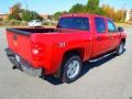2013 Victory Red Chevrolet Silverado 1500 LT Crew Cab 4x4  photo #5