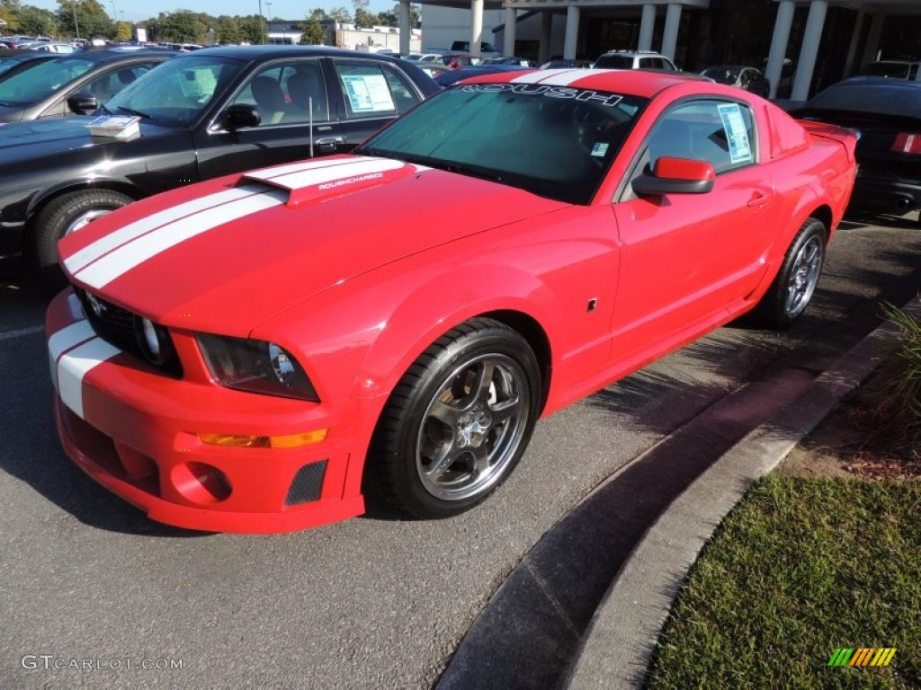 2006 torch red ford mustang roush stage 1 coupe 72706061. Black Bedroom Furniture Sets. Home Design Ideas