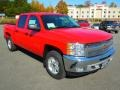 2013 Victory Red Chevrolet Silverado 1500 LT Crew Cab 4x4  photo #1