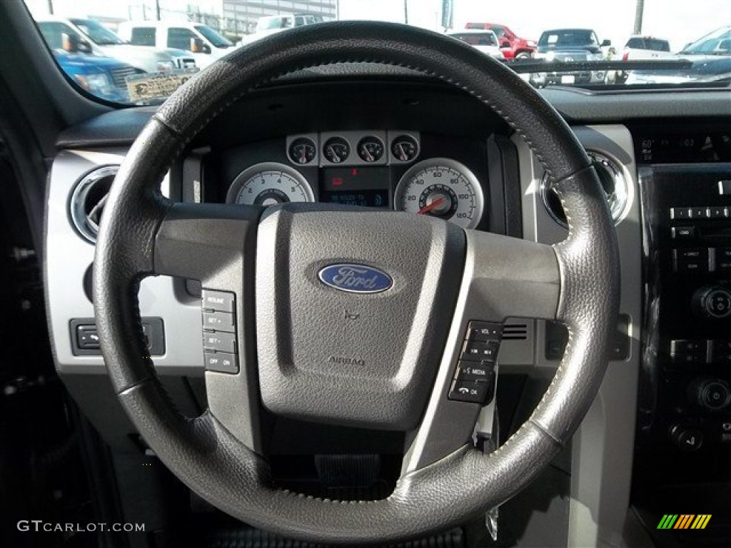 2005 Ford F150 Lariat >> 2010 Ford F150 FX4 SuperCrew 4x4 Steering Wheel Photos ...