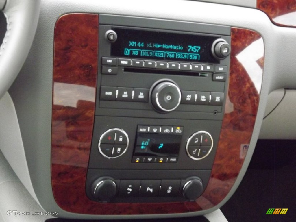 2013 Silverado 1500 LTZ Crew Cab 4x4 - Silver Ice Metallic / Light Titanium/Dark Titanium photo #10
