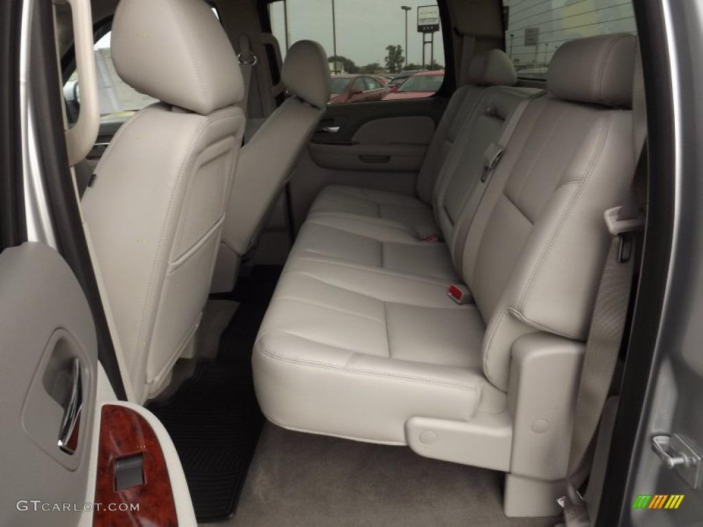 2013 Silverado 1500 LTZ Crew Cab 4x4 - Silver Ice Metallic / Light Titanium/Dark Titanium photo #14