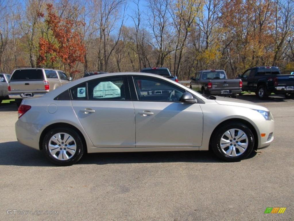 2013 Champagne Silver Metallic Chevrolet Cruze Ls 72766189 Photo 8 Car Color