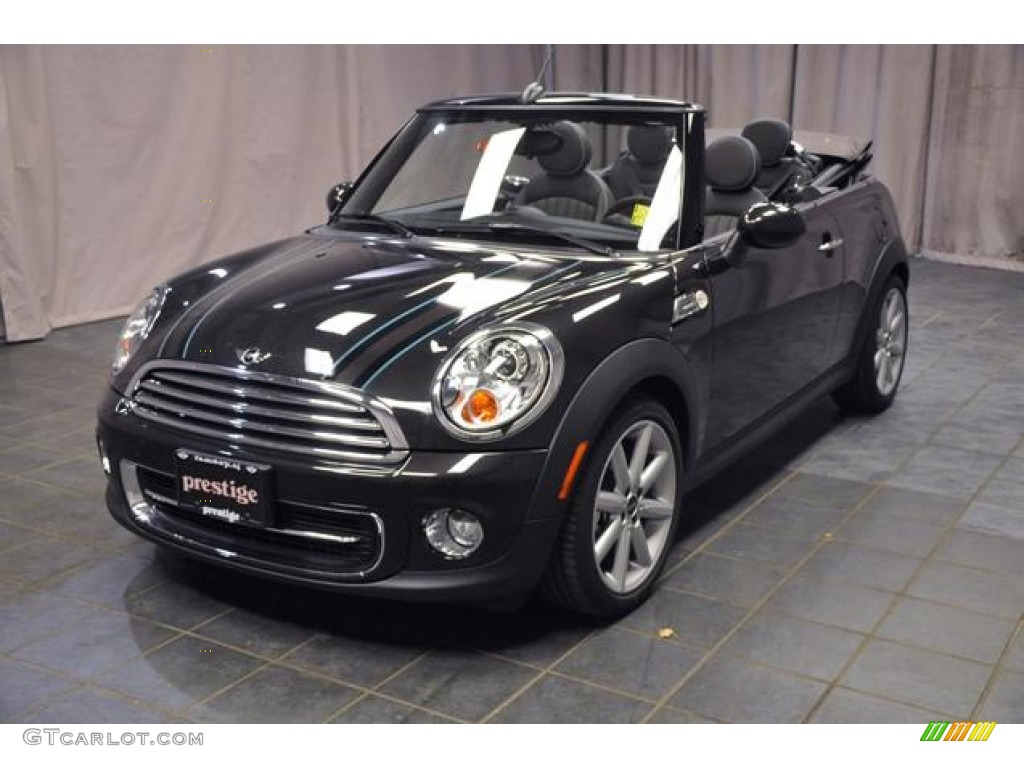 Mini Cooper Ice Blue >> 2013 Iced Chocolate Metallic Mini Cooper Convertible ...