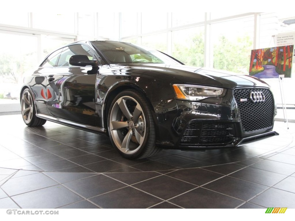 2013 phantom black pearl audi rs 5 4 2 fsi quattro coupe 72766834 car color. Black Bedroom Furniture Sets. Home Design Ideas