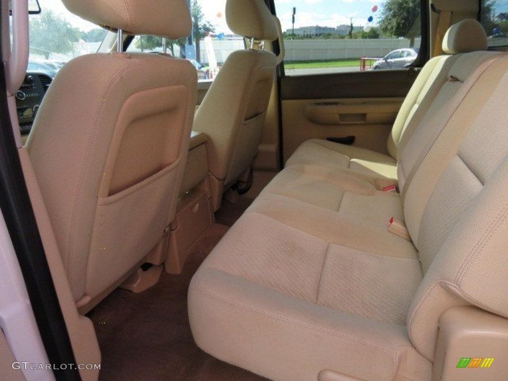 2012 Silverado 1500 LT Crew Cab - White Diamond Tricoat / Light Cashmere/Dark Cashmere photo #12