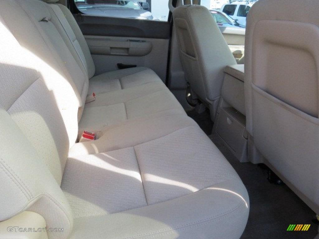 2012 Silverado 1500 LT Crew Cab - White Diamond Tricoat / Light Cashmere/Dark Cashmere photo #14