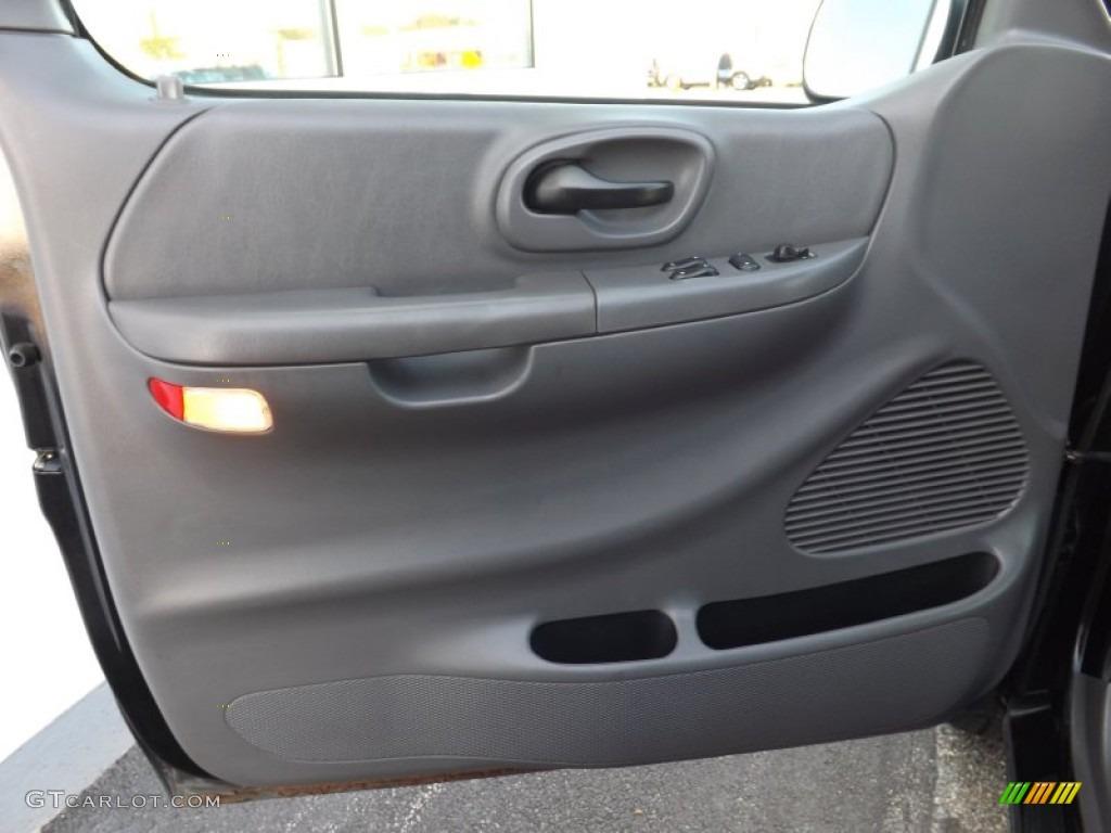 2001 Ford F150 Xlt Supercab 4x4 Medium Graphite Door Panel Photo 72808048 Gtcarlot Com