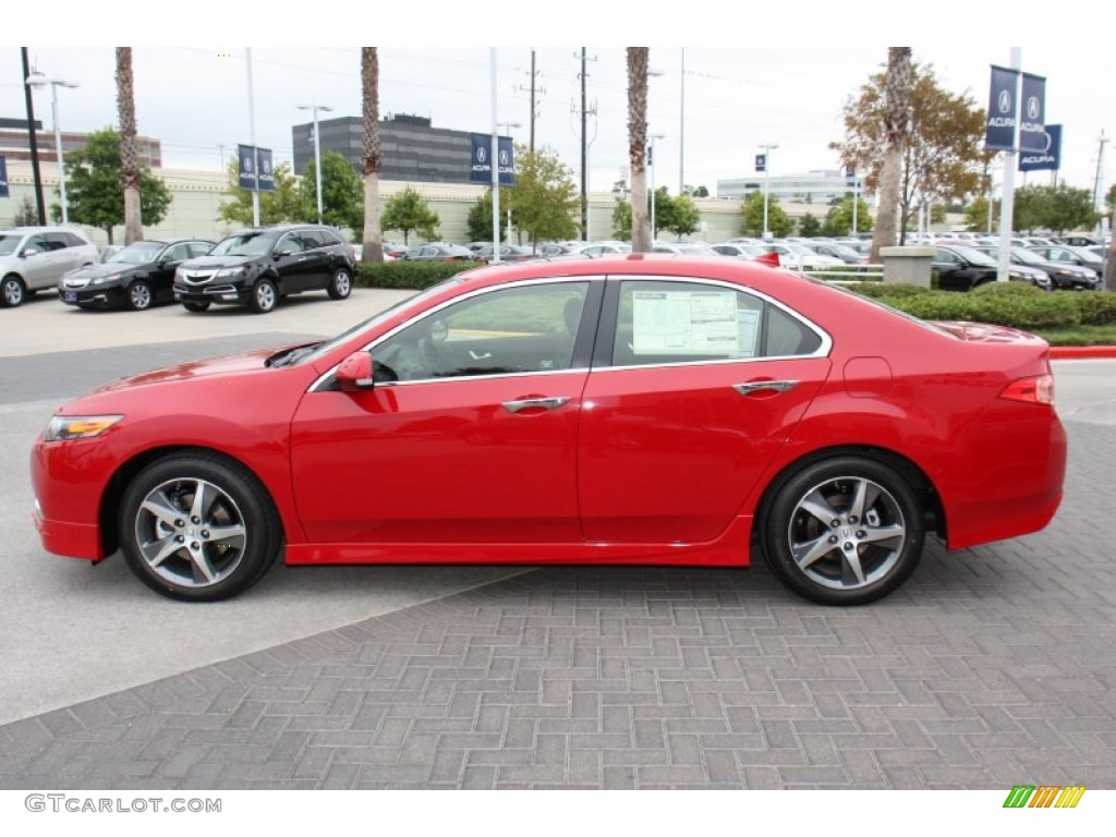 Milano Red 2012 Acura TSX Special Edition Sedan Exterior Photo #72812901 | GTCarLot.com