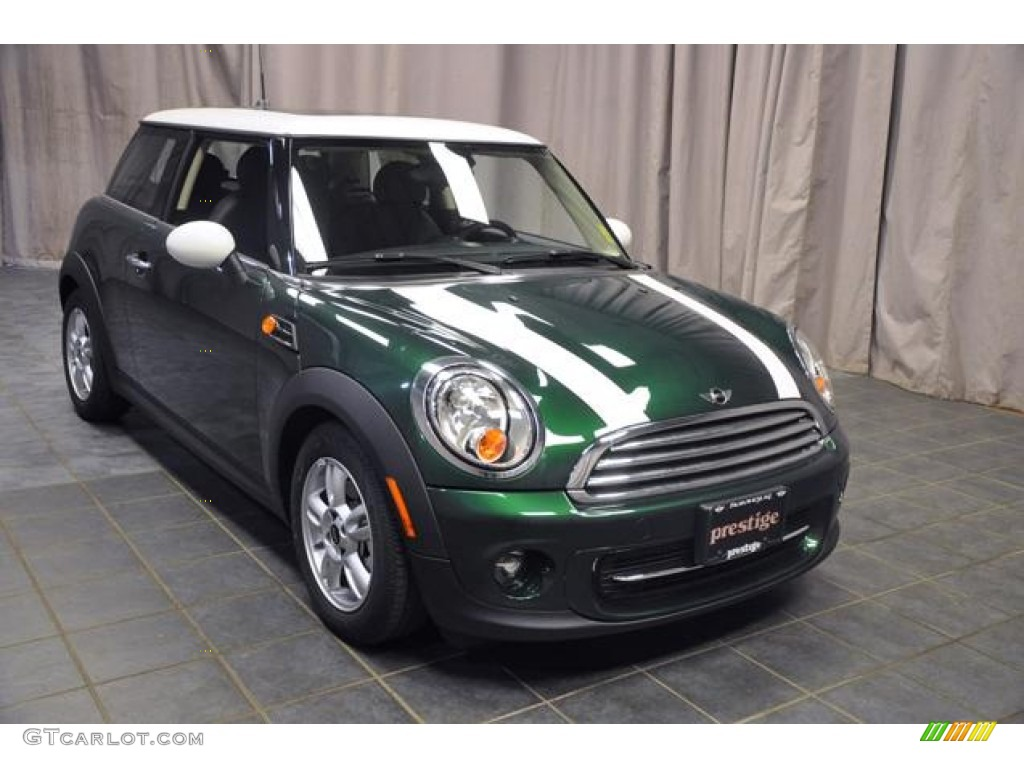 Mini Cooper Ice Blue >> 2013 British Racing Green II Metallic Mini Cooper Hardtop #72826591 Photo #4 | GTCarLot.com ...