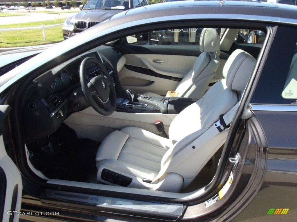 ivory white interior 2013 bmw 6 series 650i coupe photo 72833967. Black Bedroom Furniture Sets. Home Design Ideas