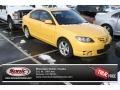 Solar Yellow Mica 2004 Mazda MAZDA3 Gallery