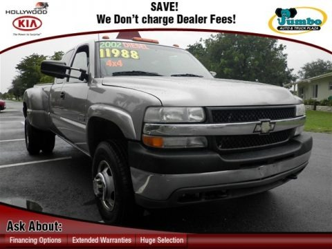 2002 Chevrolet Silverado 3500 LS Extended Cab 4x4 Dually Data, Info and Specs