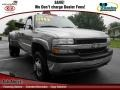 2002 Light Pewter Metallic Chevrolet Silverado 3500 LS Extended Cab 4x4 Dually #72826869