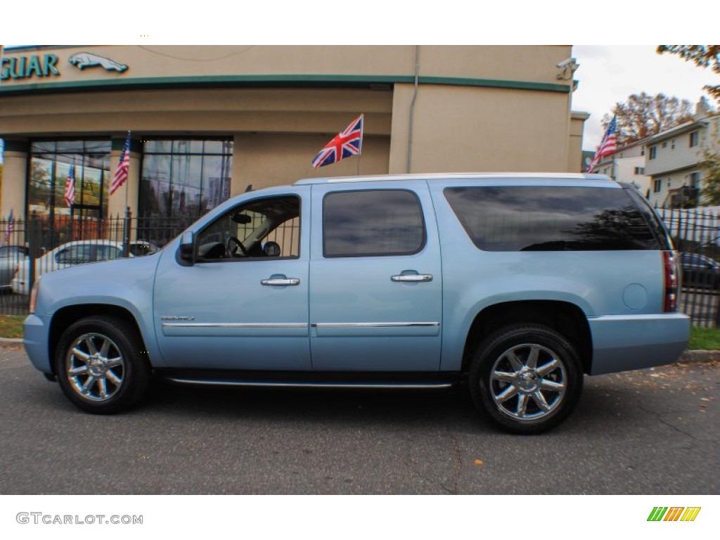 Ice Blue Metallic 2011 Gmc Yukon Xl Denali Awd Exterior Photo 72858480