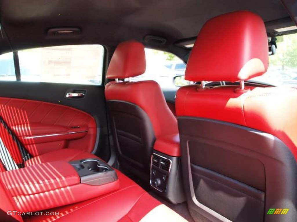 Black Red Interior 2013 Dodge Charger R T Plus Photo 72865609