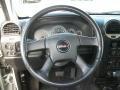 2009 GMC Envoy Ebony Interior Steering Wheel Photo