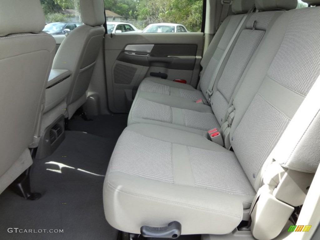 2008 Dodge Ram 3500 SLT Mega Cab 4x4 Dually Rear Seat Photos