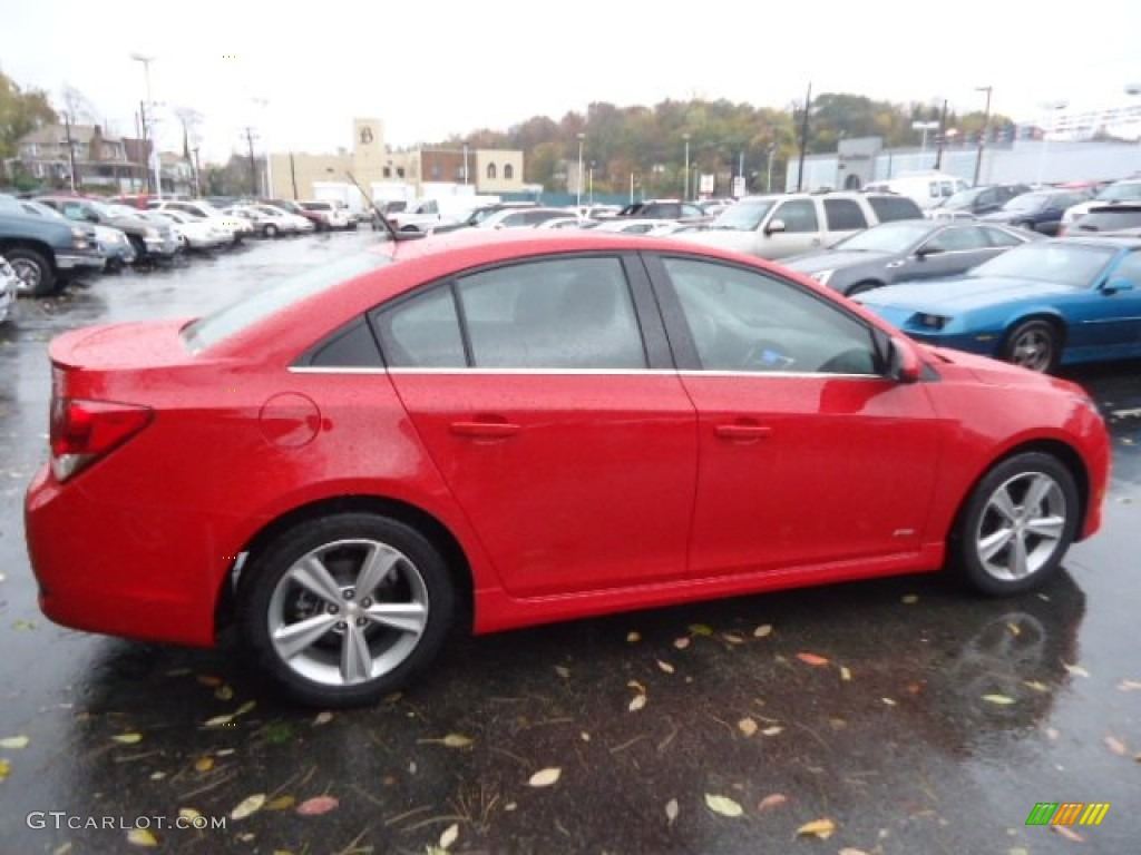 Victory Red 2012 Chevrolet Cruze Lt Rs Exterior Photo 72887025