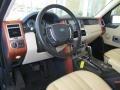 Sand/Jet 2006 Land Rover Range Rover Interiors